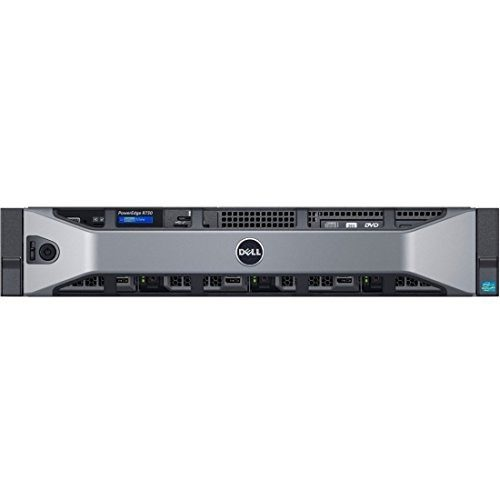 DELL-Power-Edge-Rack-730-2.5inch-Chassis-with-up-to-8-Hard-Drives Front View