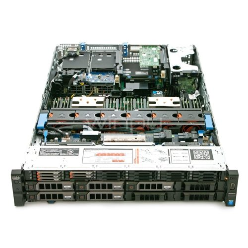 DELL Power Edge Rack R730 (2.5inch Chassis with up to 8 Hard Drives) Top View