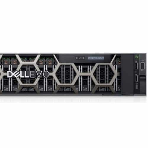 DELL Power Edge Rack R740XD (3.5inch Chassis with up to 12 Hard Drives) Front view