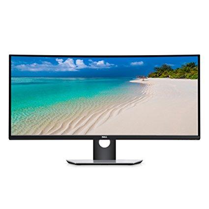 Dell Ultra Sharp 34 Curved Monitor U3417W WQHD Front view