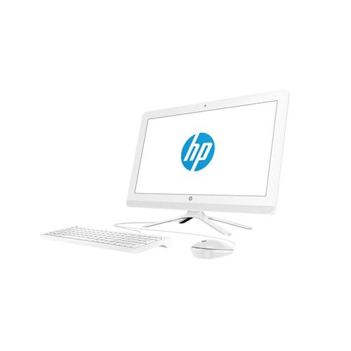HP-ALL-IN-ONE-22-C003NE-4MX29EA-WHITE Front View