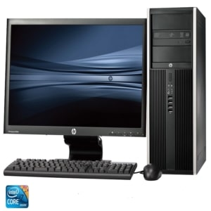 HP Desktop 460-p293nem PC Bundle