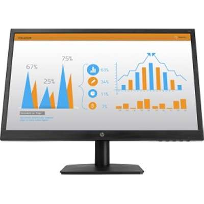 HP-N223-21.5-inch-MONITOR Black